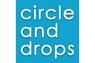 circle and drops