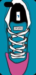 iPhoneケース/ Sneaker left