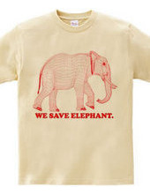 elephant -RED-