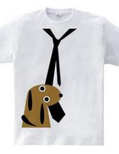 ネクタイT+イヌ