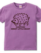 Mr. Hedgehog every character t-shirt