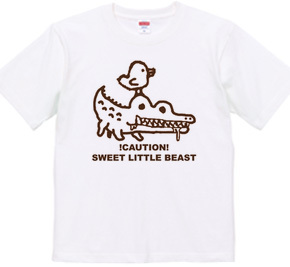 ゆるキャラTシャツ ワニさん