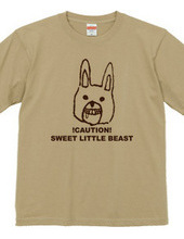 Mr. rabbit every character t-shirt