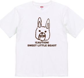 ゆるキャラTシャツ ウサギさん