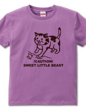 Cat s loose character t-shirt