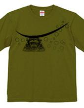 戦国武将 独眼流 伊達政宗Tシャツ