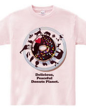 Delicious, Peaceful Donut Planet