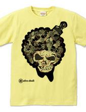 afro skull 3