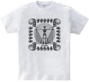 骸骨人体図