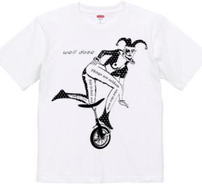 Clown And Monocycle (mono)