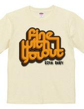 FineWithoutYou Orange&Blac