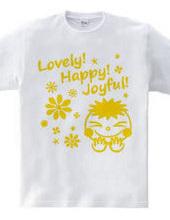 Lovely! Happy! Joyful! (Y)