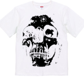 Skull / Shiny out /