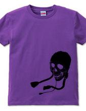 Skull / Knit hat /