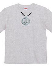 PeaceSymbol =Necklace Silver=