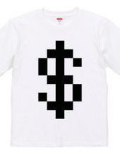 Dot Alphabet - $ -