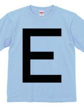 Dot Alphabet - E -