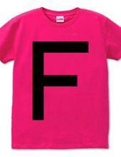 Dot Alphabet - F -