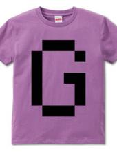 Dot Alphabet - G -