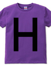 Dot Alphabet - H -