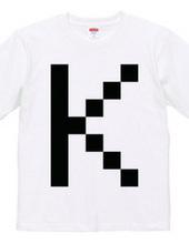 Dot Alphabet - K -