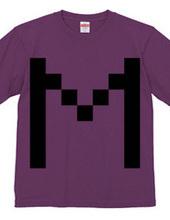 Dot Alphabet - M -