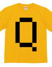 Dot Alphabet - Q -