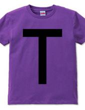 Dot Alphabet - T -