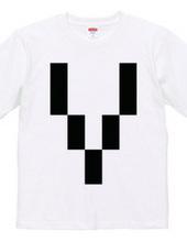 Dot Alphabet - V -