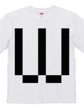 Dot Alphabet - W -