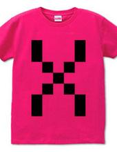 Dot Alphabet - X -