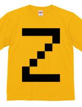 Dot Alphabet - Z -