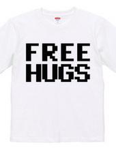 FREE HUGS (Standard Font 9 BK)