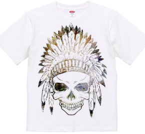 Skull / Tribal hat /