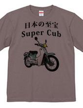 スーパーカブ Super Cub-001 薄い色