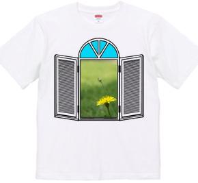 窓-002・たんぽぽ