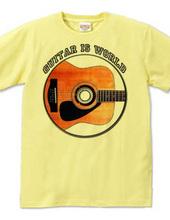 ギター 薄い色