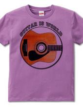 ギター 濃い色