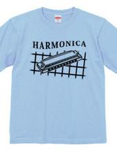 ハーモニカ・001 濃い色