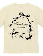 蟻が10匹T