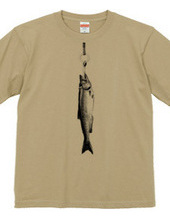 つり革に新巻鮭