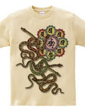 蛇と胎蔵曼荼羅