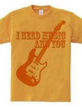 I NEED MUSIC AND YOU(O)
