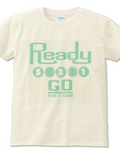 READY STEADY 5 o' clock(mint)
