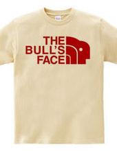 the bulls face