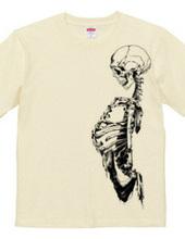 スカルTシャツ2