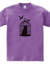 黒 猫 と 鳥 籠 。