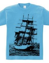 ノルウェーの帆船