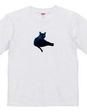 黒猫のステンシル