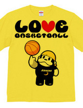 ラブラブバスケTシャツ